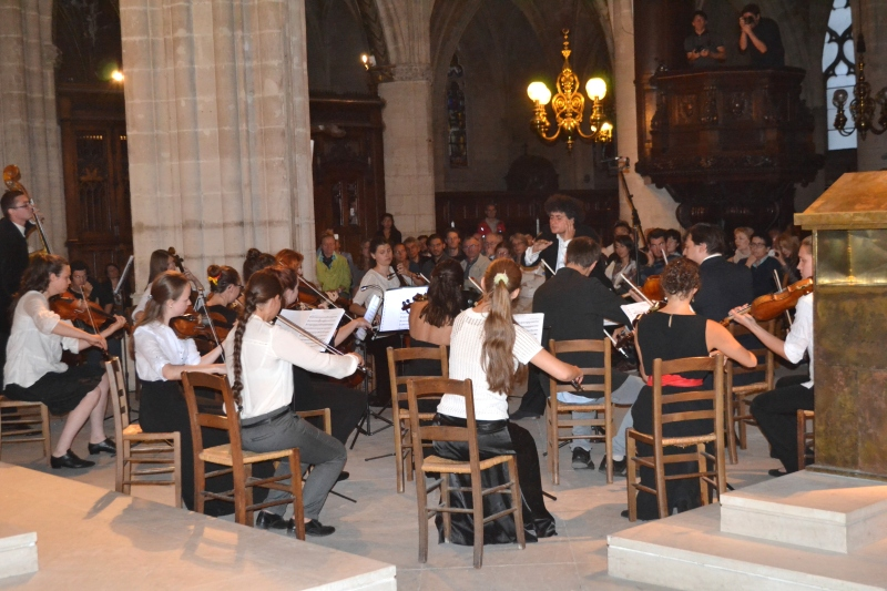 Greater Europe Peace Ochestra concert at St Germain Church Paris / Picture by Justyna Molendowska-Ruiz (CC)